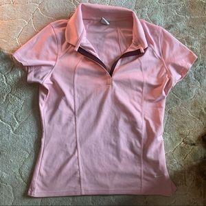 Pink Nike Polo